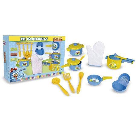 Cozinha Infantil Kit Panelinhas Galinha Pintadinha Nig