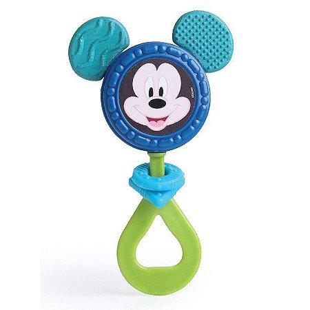 Brinquedo Chocalho Mordedor Para Bebês Mickey Elka