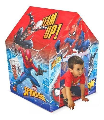 Barraca Infantil Quartel General Spider-Man Líder Brinquedos