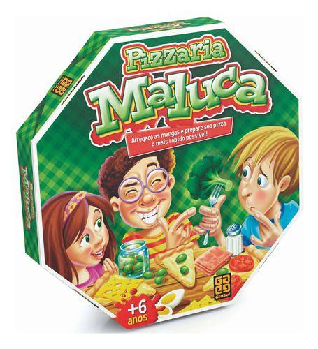 Brinquedo Infantil Pizzaria Maluca Grow