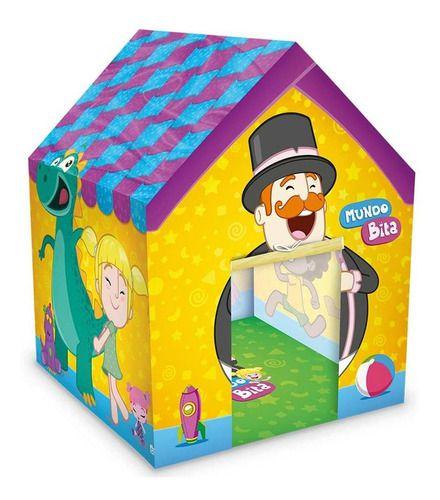 Barraca Infantil Casinha Mundo Bita Lider Brinquedos
