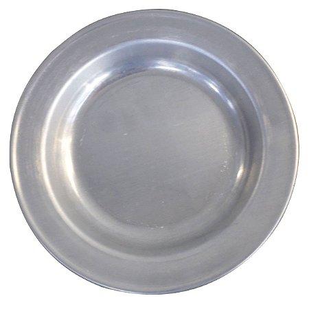 Prato Em Alumínio Reforçado Tradicional Polido N22 AAL