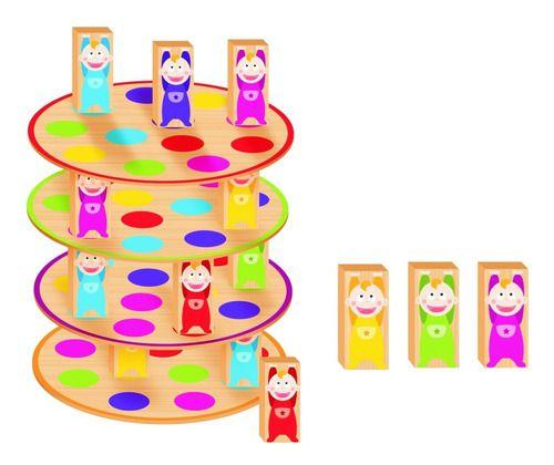 Brinquedo Infantil Educativo Equilibra Bebês Nig Brinquedos