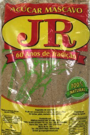 AÇÚCAR MASCAVO 100% NATURAL 500G - JR