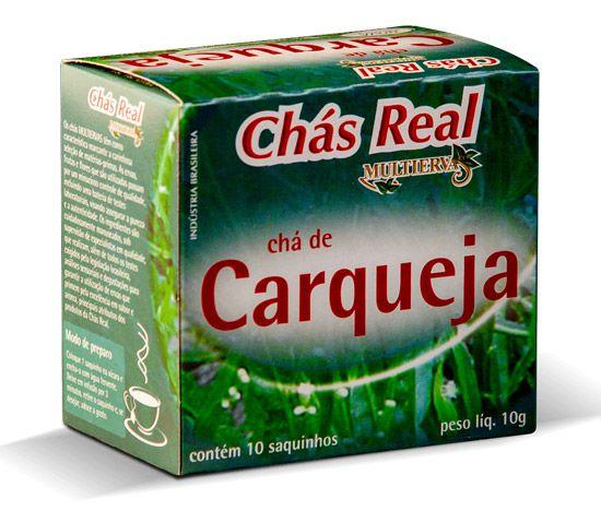 CHÁ DE CARQUEJA 10 SACHÊS - REAL MULTIERVAS