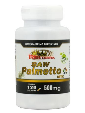 SAW PALMETTO 500MG 120 CÁPSULAS - REI TERRA