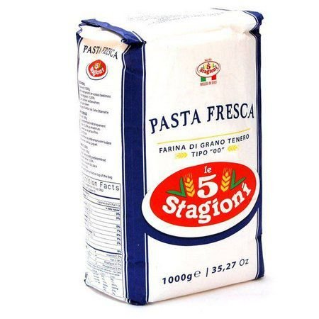 FARINHA DE TRIGO ITALIANA 00 PASTA FRESCA 1KG - LE 5 STAGIONI