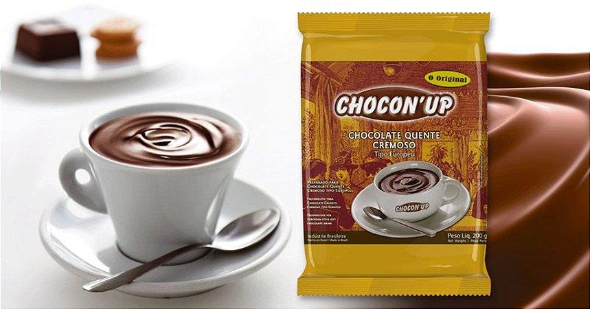 CHOCOLATE QUENTE ULTRA CREMOSO TIPO EUROPEU 200G - CHOCON UP