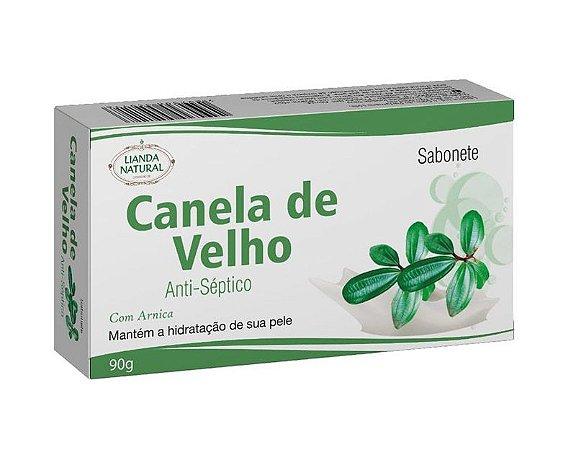 SABONETE NATURAL ANTISSÉPTICO DE CANELA DE VELHO 90G - LIANDA NATURAL