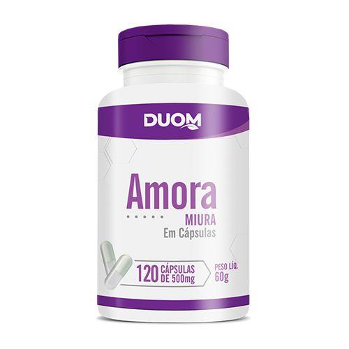 AMORA MIURA 500MG  120 CÁPSULAS - DUOM