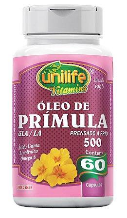 ÓLEO DE PRÍMULA 700MG 60 CÁPSULAS - UNILIFE
