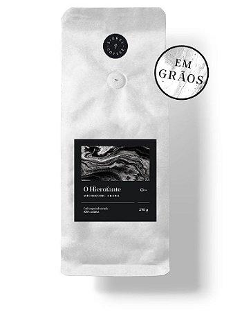 """CAFÉ ESPECIAL PREMIADO """"O HIEROFANTE"""" 250G - TORRADO EM GRÃOS"""