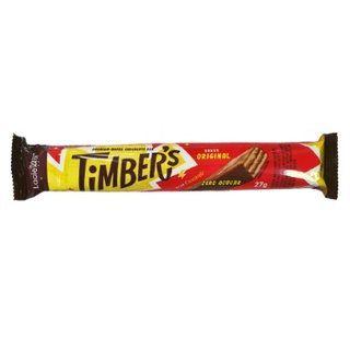 WAFER ZERO AÇÚCAR COBERTO COM CHOCOLATE 27G - TIMBERS