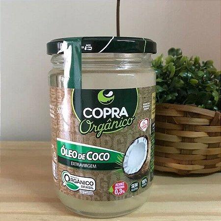 ÓLEO DE COCO EXTRA VIRGEM ORGÂNICO 500ML - COPRA