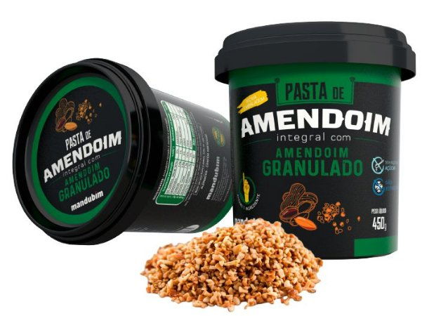 PASTA DE AMENDOIM GRANULADO 450G - MANDUBIM