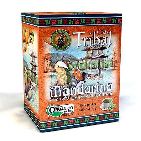 CHÁ ORGÂNICO MANDARINA COM ESPECIARIAS 15 SAQUINHOS 22,5G - TRIBAL