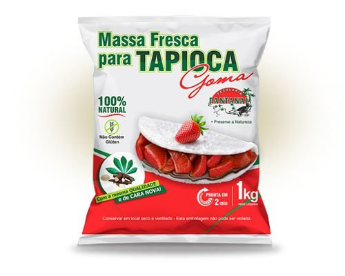 MASSA PRONTA PARA TAPIOCA 1KG - PANTANAL