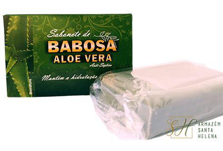 SABONETE NATURAL ANTISSÉPTICO DE BABOSA - ALOE VERA 90G - BIONATURE
