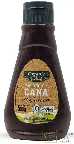 MELADO DE CANA ORGÂNICO 300G - SAÚDE NATURAL