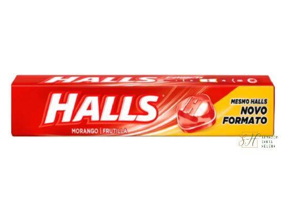 HALLS MORANGO 28G