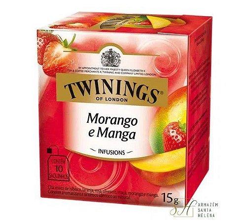 CHÁ MORANGO E MANGA 10 SAQUINHOS 15G - TWININGS
