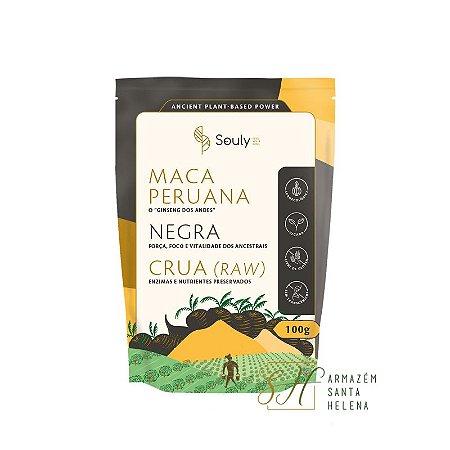 MACA PERUANA NEGRA 100G - SOULY