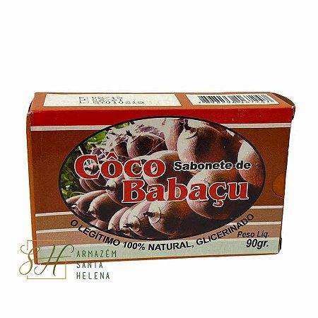 SABONETE NATURAL GLICERINADO DE COCO BABAÇU 90G
