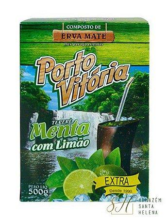 TERERÉ MENTA COM LIMÃO 500G - PORTO VITÓRIA