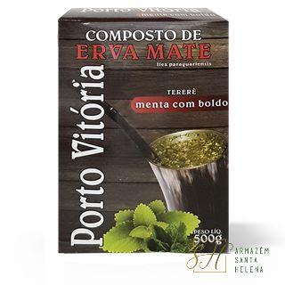 TERERÉ MENTA COM BOLDO 500G - PORTO VITÓRIA
