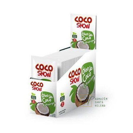 ÓLEO DE COCO EXTRA VIRGEM SACHÊ 15ML - COCO SHOW