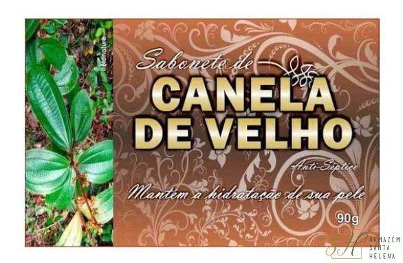 SABONETE NATURAL ANTISSÉPTICO DE CANELA DE VELHO  90G - BIONATURE
