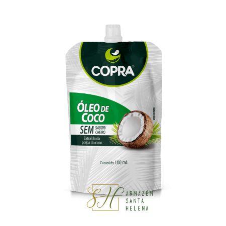 ÓLEO DE COCO SEM SABOR POUCH 100ML - COPRA