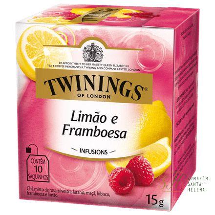 CHÁ LIMÃO E FRAMBOESA 10 SAQUINHOS 15G - TWININGS