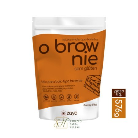 O BROWNIE MIX 576G - ZAYA