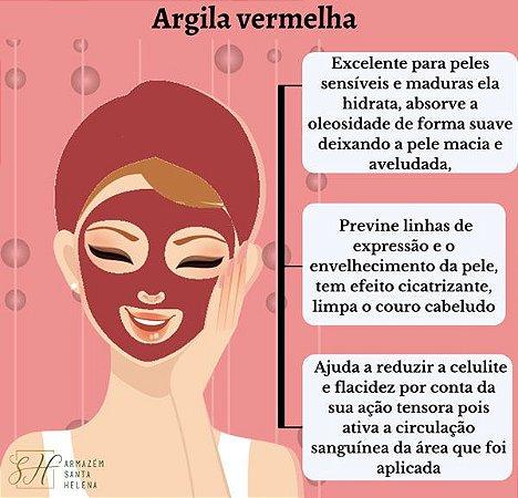 ARGILA VERMELHA 100G