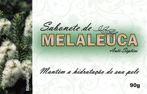 SABONETE NATURAL ANTISSÉPTICO DE MELALEUCA 90G - BIONATURE