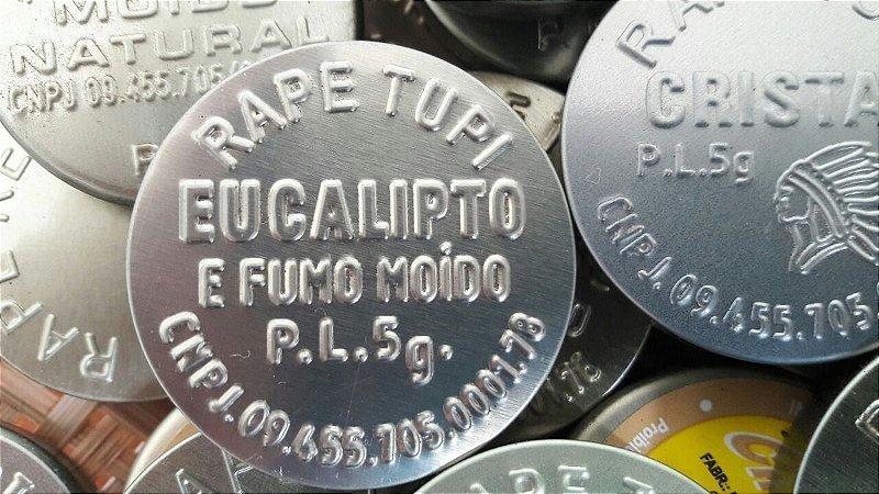 Rapé Tupi - Eucalipto e Fumo Moído - 5 gramas