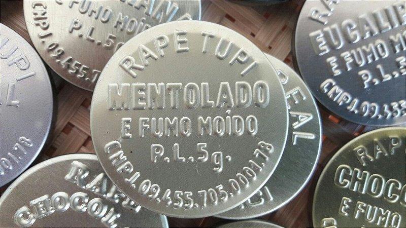 Rapé Tupi - Mentolado e Fumo Moído - 5 gramas