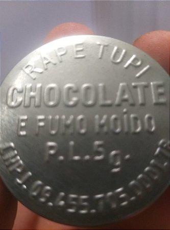 Rapé Tupi - Chocolate e Fumo Moído - 5 gramas