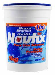 UNILIT NAUTIX GRAXA UGRAXA BRANCA 1KG