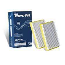 FILTRO DE CABINE  AR CONDICIONADO TECFIL ACP 481/9