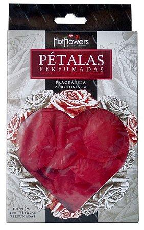 Pétalas de Rosas Vermelhas Perfumadas Hot Flowers