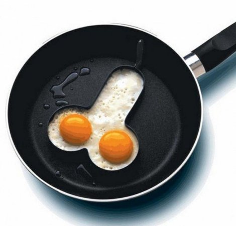 Forma em Formato De Pênis Egg Fryer