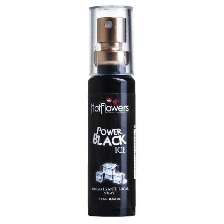 POWER BLACK ICE SPRAY - especifico para garantir um hálito fresco e agradável.