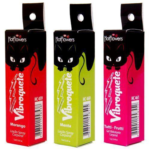 Vibroquete - Vibrador Líquido Comestível