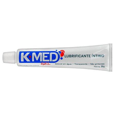 Gel Lubrificante Íntimo K-MED 50g