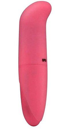 Vibrador Golfinho Ponto G Toque Aveludado Rosa