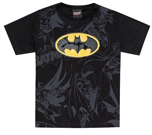 8493ff638 Camiseta liga da justiça manga curta Batman - Boyhood Roupas e ...