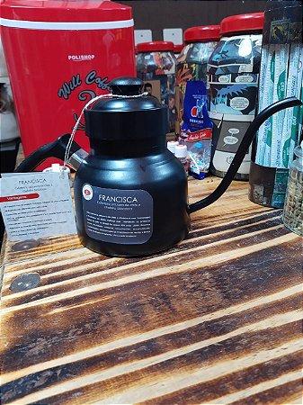 Pré Venda: Francisca: Cafeteira, infusora de chás e chaleira dosadora