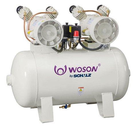 Compressor Odontológico WOP  MSV 12/100 - WOSON by SCHULZ